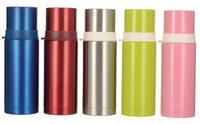 white color cap stainless steel  bottle-420ml
