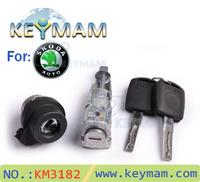 wholesale for High quality car door auot locks set for Skoda Octavia,CAR DOOR LOCK OPENER