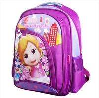 New 2014 Hot  sale children school bags 1-3-6 grade children cartoon bag Lovely minus pressure children backpack