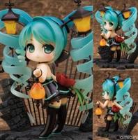 Free Shipping Alphamax miku strightlightsstreetlights feat . cat fish hand-done model boxed