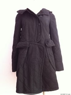 Double 11 13 medium-long wadded jacket thickening cotton-padded jacket cotton-padded jacket magic doll(China (Mainland))