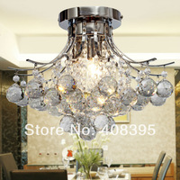 Free Shipping Modern Ceiling Light For Bedroom With K9 Crystal Drop Lamps for Home Modern Fast Shipping