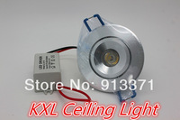 6pcs Free shipping Energy saving 1w 3W 5W 7W 9W 12W LED Ceiling Light Lamp recessed ceiling light 2 years warranty