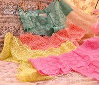 Free Shipping! Lace Panties Briefs Lingerie Flowers Pattern Underwear T-back lace