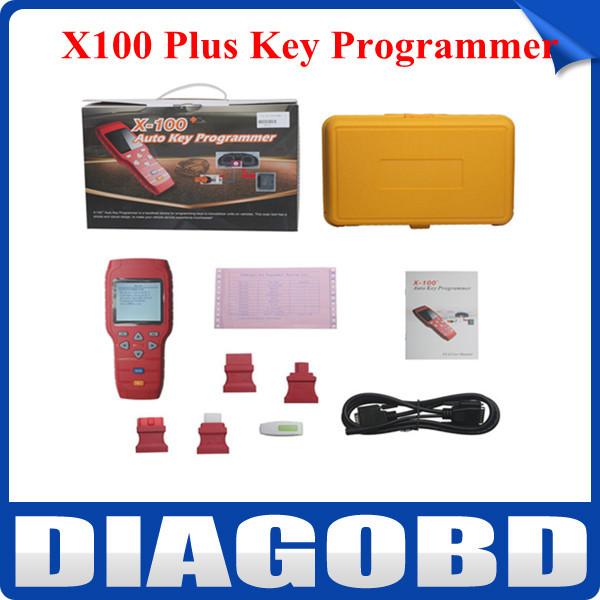 Original X-100 + X100 mais a auto programador chave de atualização no site oficial X 100 Cobertura do veículo (Ásia , Europa, América )(Hong Kong)