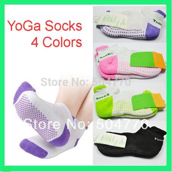Горячие продаж женская профессиональный йога носки с антискользящим покрытием резиновые точек спортивный в помещении упражнения носки латекс пилатес носки