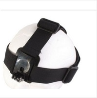 2014 Hot go pro New Elastic Adjustable Head Strap Belt Mount For Gopro Hero3 2 1 HD Camera gopro accessories tripod for camera