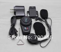 Dual Motorcycle Helmet Bluetooth BT Headset Intercom 500M BT500