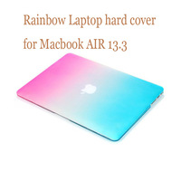 "For MacBook air 13.3"" Frosted Matte Ranbow color Laptop Hard Case Cover for mac book air 13.3"" (Model: A1369/A1466)"