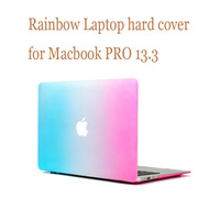 "For MacBook PRO 13.3"" Frosted Matte Ranbow color Laptop Hard Case Cover for mac book PRO 13.3"" (Model: A1278)"