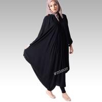 2014 New style muslim abaya dubai fashion butterfly abaya