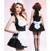 cosplay lingerie wholesale maid dress japanese costume  backless  French lolita princess halloween waiter clothes