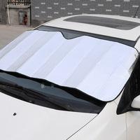 Free shipping Car sunshade Car auto window sunscreen sun-shading  supplies coated silver cloth  130*60cm