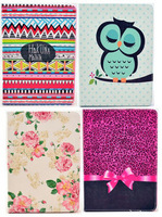 2014 New Flower Keep Calm Stripes Flip Stand Book Leather Cases Smart Cover For Samsung Galaxy Tab 3 P3200 T210 T310 P5200 Bags