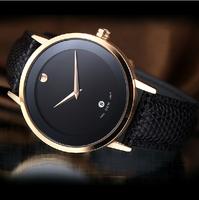 New 2014 Brand Luxury Watches Men Sports Casual Fashion Wristwatch, Sapphire Dill 200M Dive Quartz Genuine Leather Strap Watch