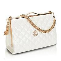 2104 women's fashion plaid chain bag shoulder bag messenger bag dual-use bag