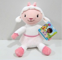 Free shipping original Doc McStuffins toy plush sheep Lambie sitting height 30 cm cute stuffed animals toys for girls