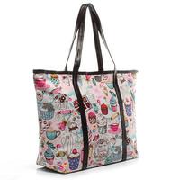 7 kinds of patterns new 2014 Waterproof Oxford / canvas Multi-use beach / shopping tote bag women handbag shoulder bags B16