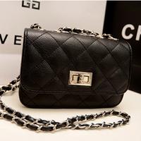 Small Plaid Chain Messenger Bag LADY STYLE Hot Wholesale Fashion Women's Handbag Elegant Shoulder Bag ILDJ1028