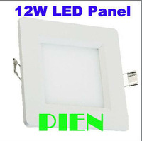 Ultra thin design 12W LED ceiling recessed grid downlight square panel light 170mm free shipping 1pcs/lot
