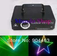 DHL 1000mW 1W RGB Animation Beam ILDA 20K DJ Lighting, Stage Effect Laser Light DMX, Free shipping