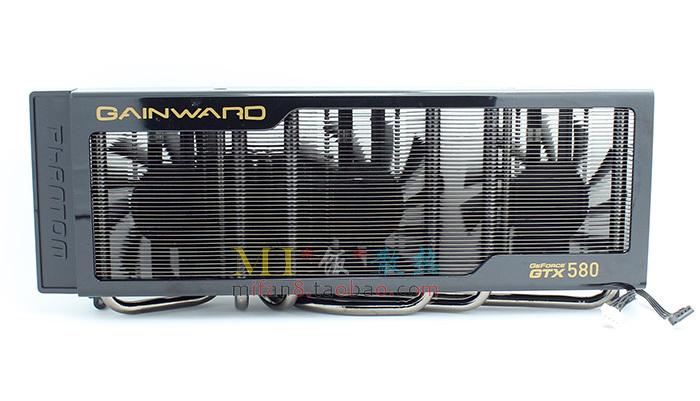 GTX580 6 тепловых трубок 3