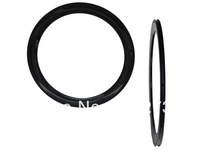 Cycling Wheel Full Carbon 3K Glossy 700C Road Bicycle Clincher Rim Wheel  (Depth : 60mm)  front and rear