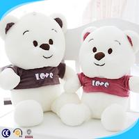 Lovely bear plush wholesale toys