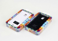 Free shipping 3500mAh External Backup Battery Case portable Power bank charger for Samsung Galaxy S5 i9600 retail packing