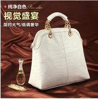 2014 Hot  New Popular Fashion pu Leather Alligator Pattern Woman handbag and Messenger Bag