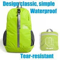 2014 New Women&Men Backpack Ride Waterproof Folding Backpacks ultra-light mountaineering nylon bags Sport backpack High quality
