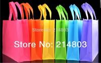 W32xH40xD10cm PP non woven reusable shopping bags with logo  free shipping