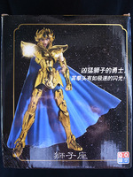 New QQ Models Metal Saint Seiya Myth Cloth Gold Leo Aioria Kit Action Figure MIB