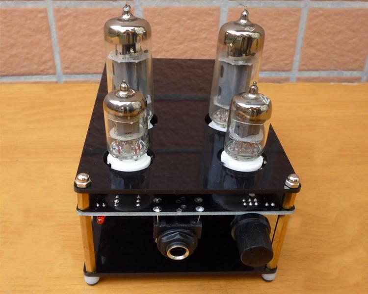 Sound rhyme 6J1 +6 P1 HiFi stereo amp tube amp tube amp pre-finished DIY PRO version(China (Mainland))