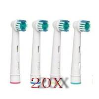 Electric toothbrush heads EB17-4 SB-17A Neutral package toothbrush head Health care 20pcs heads (4pcs=1pack) free shiping