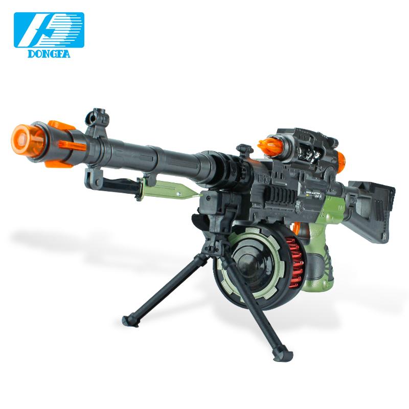 Developed electric toy gun acoustooptical submachinegun toy pistol boy toy sniper rifle Hotchkiss(China (Mainland))