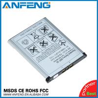 1000mah High Capacity BST-33 battery for Sony Ericsson W595s,W610,W610c,W610i,W660,W660i 2pcs/lot