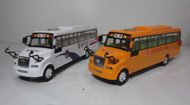 Plain american style big bus school bus alloy WARRIOR toy car model(China (Mainland))