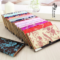 Brocade wallet unique technology gift female chinese style wallet gift