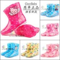 2014 arrival kids patterned rain boots children's pVC Cristal rain shoes for boys girls fashion water proof shoes antislip