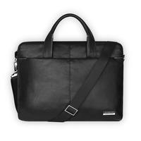Cartinuo Computer Bag for Apple Laptop Real Man Series 15.4'' Black