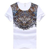Free shippingT-shirt Slim Korean men wild sports t-shirts for men T-shirt bottoming M-XXL