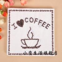 Personalized multicolour print table napkin paper tissue facial tissue paper wedding tissue paper b162