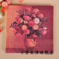 Multicolour print table napkin paper tissue facial tissue paper diy paper claudius paper towel b174