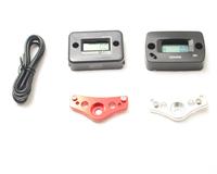 Silver 2-functions CNC alloy hour meter bracket for Hardline hour meter, tacho hour meter/Vibration hour meter etc.