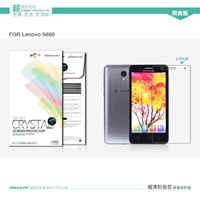 Free ship Nillkin High-Level CRYSTAL screen protector For Lenovo S660 Nillkin Matte Protective Film For S660