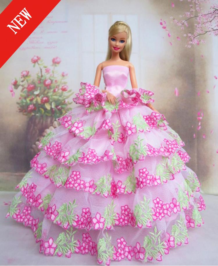 Бальные платья для кукол своими руками