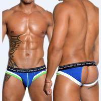 3pcs sexy mens jockstrap Jock strap underwear strings thong Briefs cotton penis pouch gay wear AC brand bikini 2014 designer
