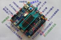 Mini at89c2051 development board compatible 16 20 stc microcontroller development board