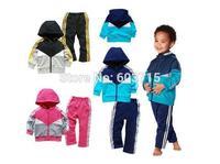 Retail factory price brand AD children sport suit 2 pcs set children cloth brand children clothing sport set children autumn set